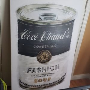 Oliver Gal Coco Chanel's Fashion Soup